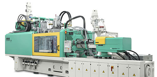 Horizontal injection molding machine / hydraulic / servo-electric / toggle ALLROUNDER CUBE ARBURG