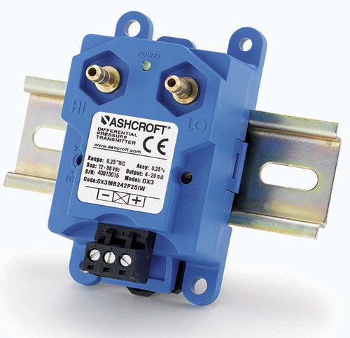 differential pressure transmitter / compact / precision / MEMS