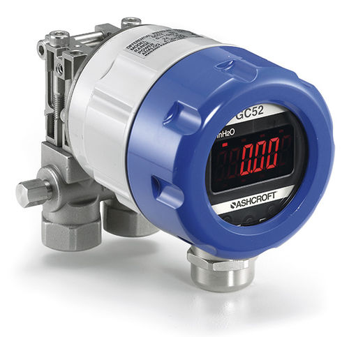 differential pressure transmitter / ceramic / with digital output / stainless steel