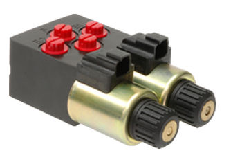 electro-hydraulic valve / pressure-reducing / for brake systems
