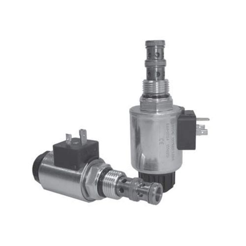 spool hydraulic directional control valve / solenoid-operated / 3/2-way / cartridge