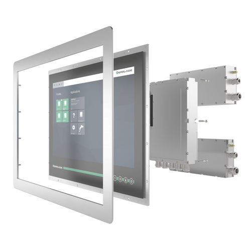 LCD monitor / panel-mount / explosion-proof / industrial