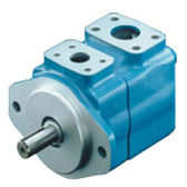 hydraulic rotary vane pump / fixed-displacement / compact / high-pressure