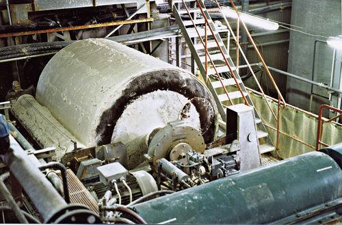 air filter / belt / rotary drum / vacuum