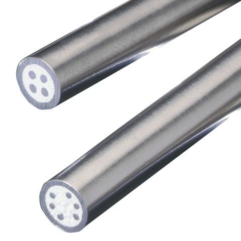 power cable / high-temperature / fire-resistant / round