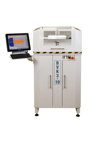 vertical balancing machine / static / pneumatic / for cutting tools