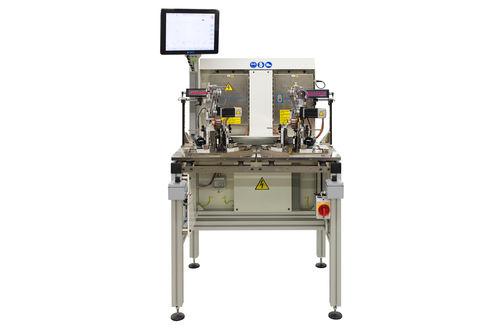 horizontal balancing machine / dynamic / electric armature / high-speed