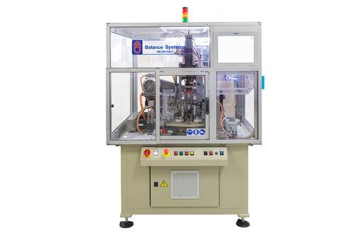 horizontal balancing machine / dynamic / electric armature / semi-automatic