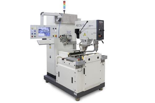 vertical balancing machine / static / manual / compact
