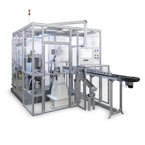 automatic balancing machine / horizontal / dynamic
