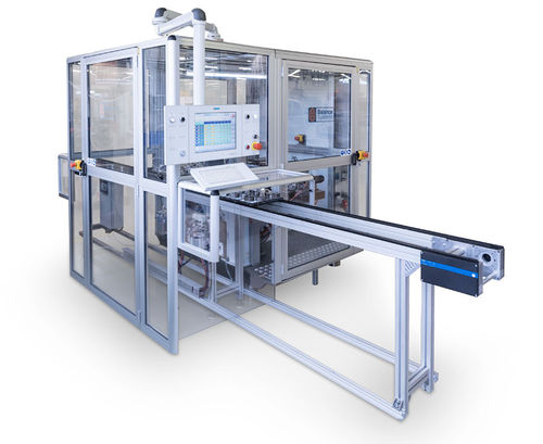 horizontal balancing machine / dynamic / automatic / modular