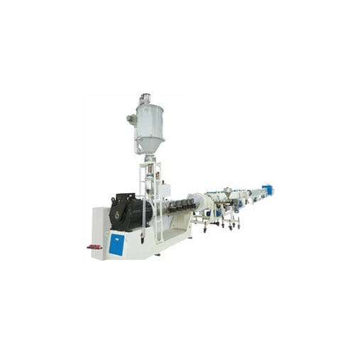 tube extrusion line / for HDPE / for PP / for gas pipes