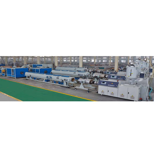 tube extrusion line / for PP / for HDPE / compact