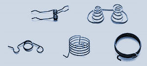 Torsion spring / wire / steel / for medical applications KERN-LIEBERS