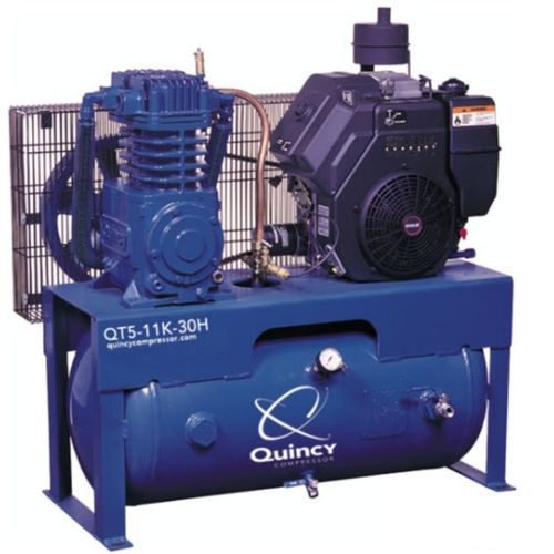 Air compressor / piston / stationary / lubricated QT series Quincy Compressor