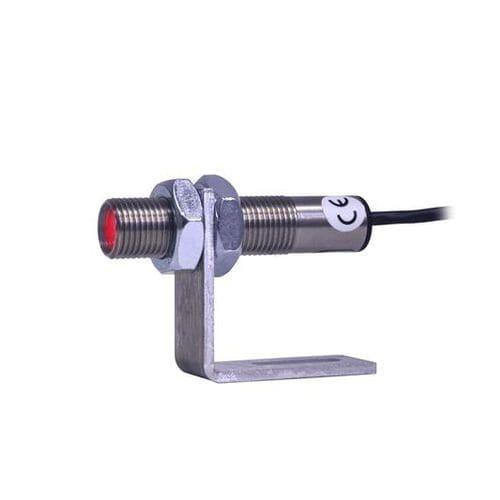rotational speed sensor / optical / non-contact / threaded
