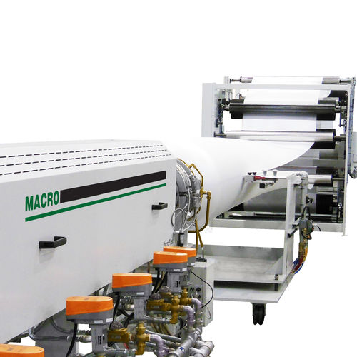 sheet extrusion line / for PLA / single layer / for foam sheets