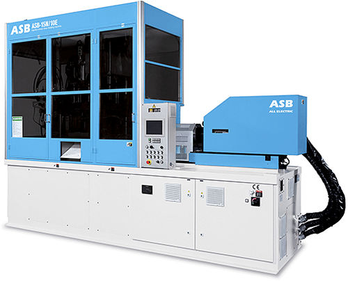 Injection-stretch blow molding machine / for PET bottles / for plastic bottles / for PP bottles ASB-15N/10E Nissei ASB Machine Co., Ltd.