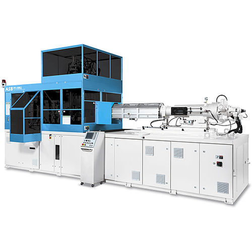 injection-stretch blow molding machine / for PET bottles / for plastic bottles / for large containers