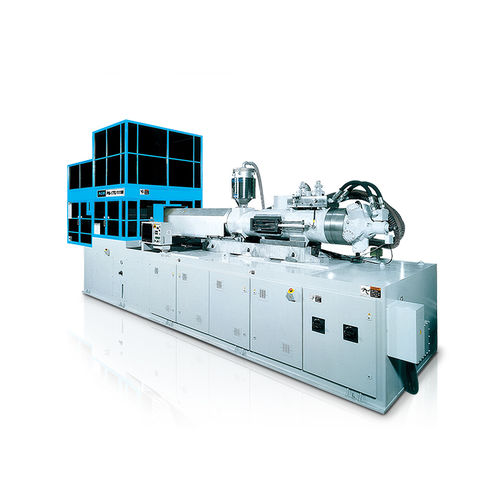 vertical injection molding machine / hydraulic / for PET / for PP