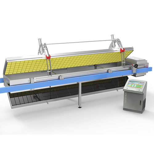 in-line thermoforming machine / twin-sheet / for food packaging / for hollow plastic parts