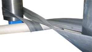 flat transmission belt / rubber / aramid / power transmission