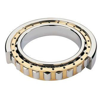 cylindrical roller bearing / radial / single-row / steel