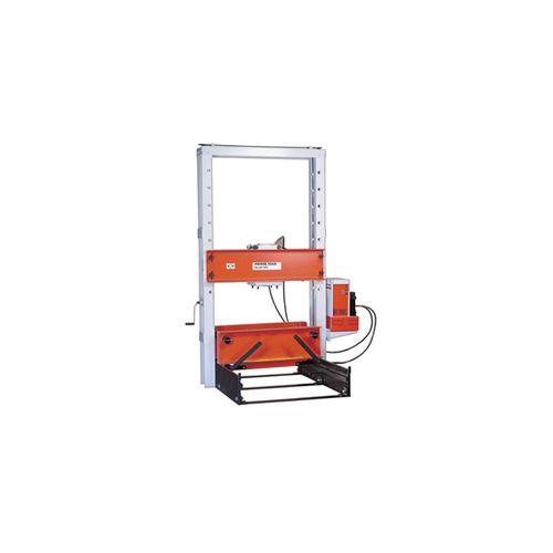 hydraulic press / straightening / vertical / roller