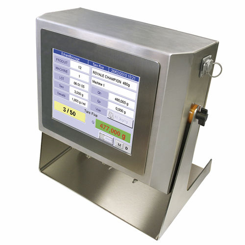Digital weighing terminal / with LCD graphic display / waterproof / rack-mount  I 700 PRECIA MOLEN
