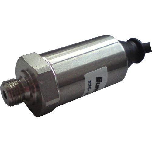 relative pressure transducer / silicon / analog / threaded