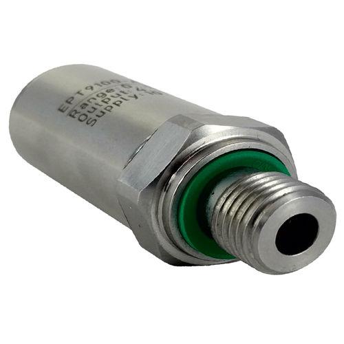relative pressure transducer / piezoresistive / analog / threaded