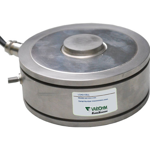 compression load cell / button type / stainless steel / IP68