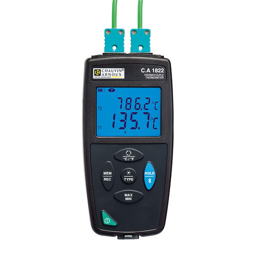 probe thermometer / thermocouple / digital / portable