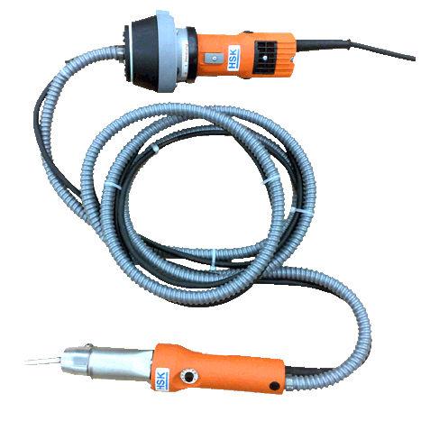 welding gun / hot air / manual / electronic