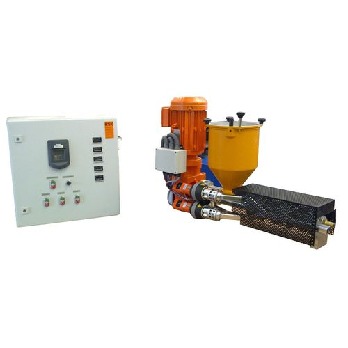 welding extruder / single-screw