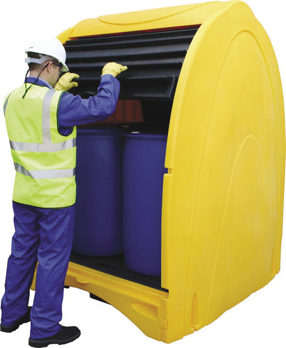 4-drum spill pallet / 2-drum / polyethylene