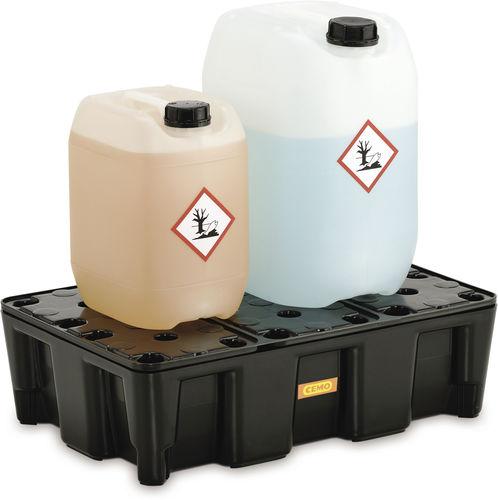 polyethylene containment bund / rigid / modular