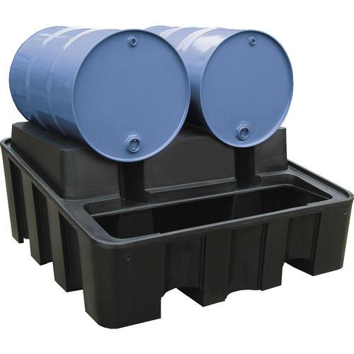 4-drum containment bund / 2-drum / 3-drum / polyethylene