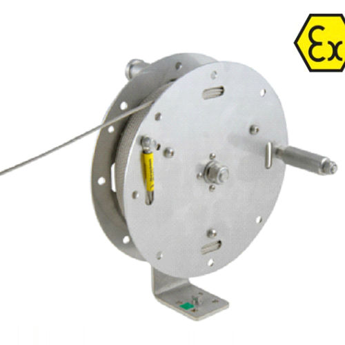 grounding reel / manual / explosion-proof