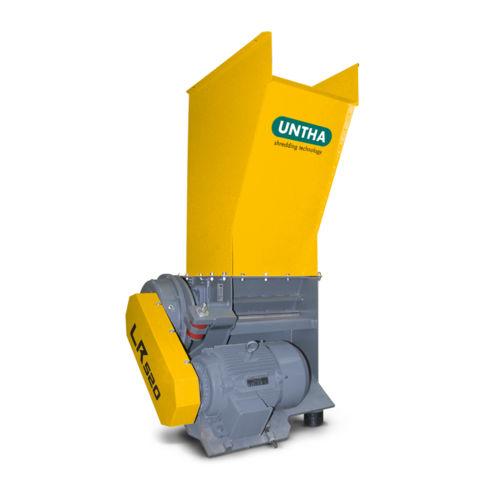 single-shaft shredder / for wood / compact