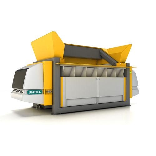 primary waste crusher-shredder