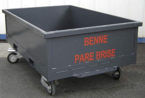 urban waste waste container / 4-wheel