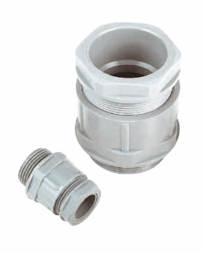 polyamide cable gland / IP54 / straight