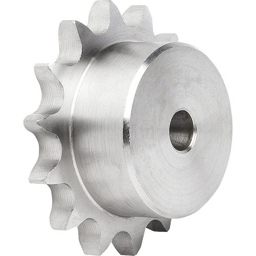 hub sprocket wheel / for chain / stainless steel