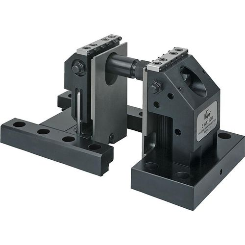 machine tool vise / 5-axis / steel / 5-axis machining
