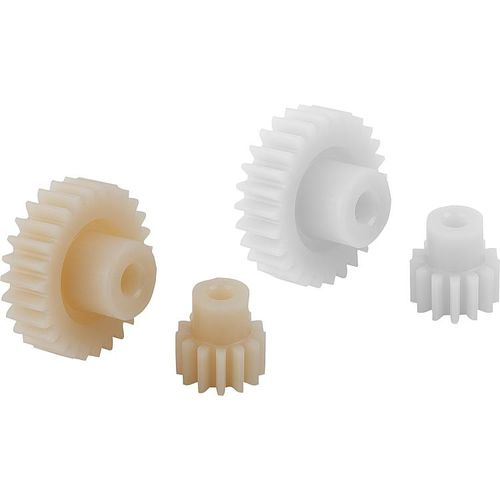 spur gear / straight-toothed / plastic / for industrial applications