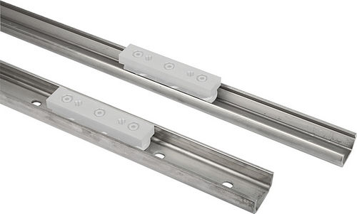 guide rail / steel / ball