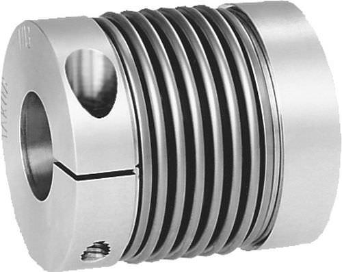 bellows coupling / metal / metal bellows / flange