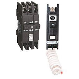 thermal-magnetic circuit breaker / short-circuit / single-pole / overload