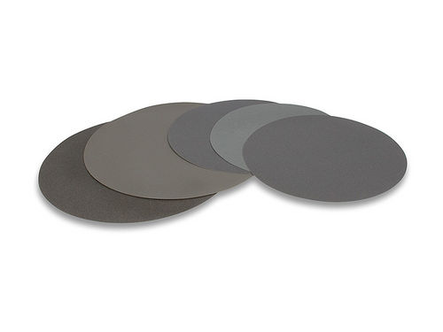 Silicon carbide abrasive disc / for polishing / grinding / for metal Ø 200 - 400  mm LAM PLAN